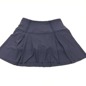Lululemon Lost in Pace Skirt Midnight Navy Size 4